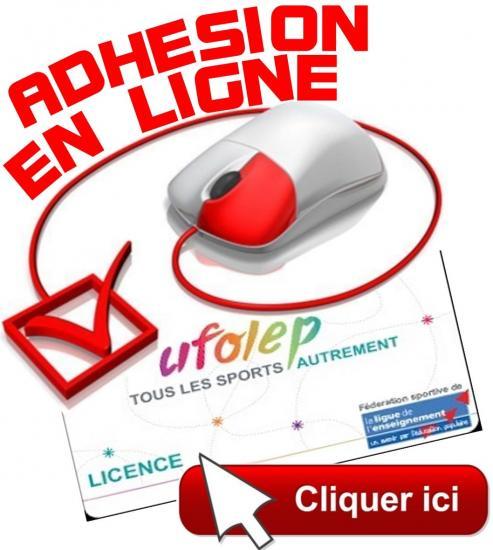 Demande de licence UFOLEP en ligne