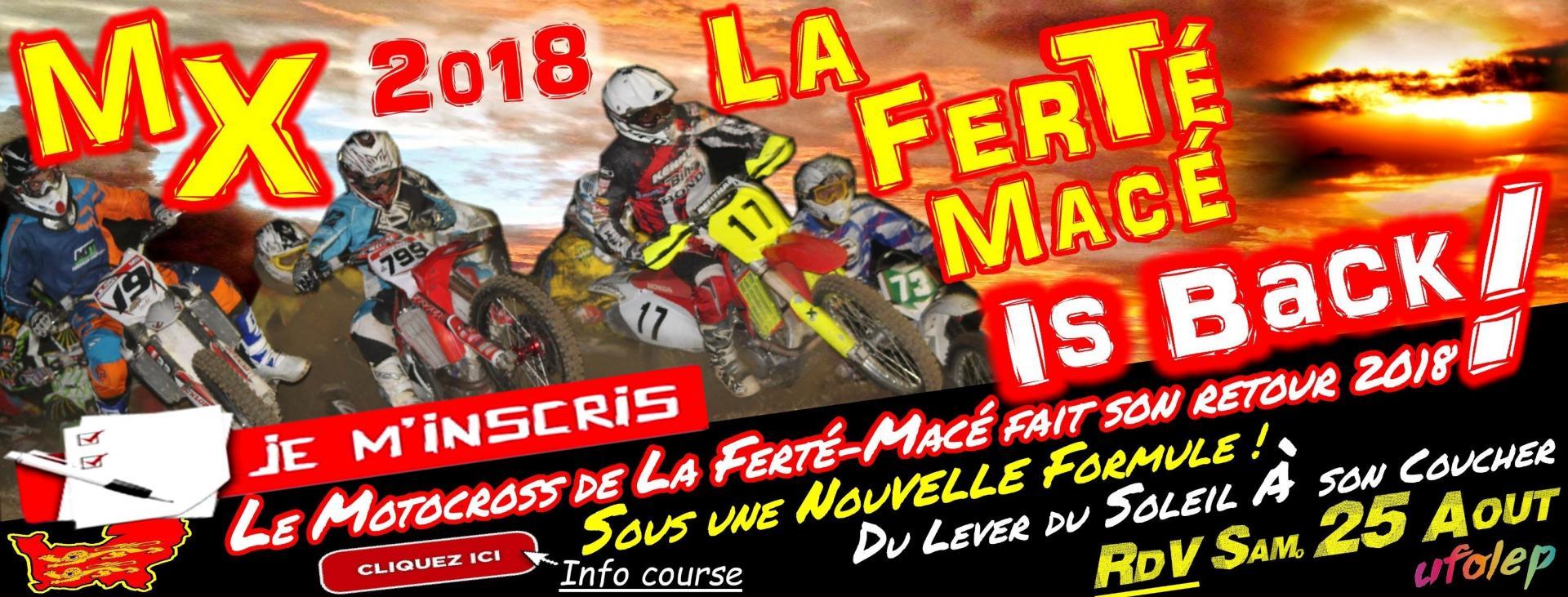 INSCRIPTION Motocross La Ferté-Macé / Télécharger l' ENGAGEMENT pour y participer !