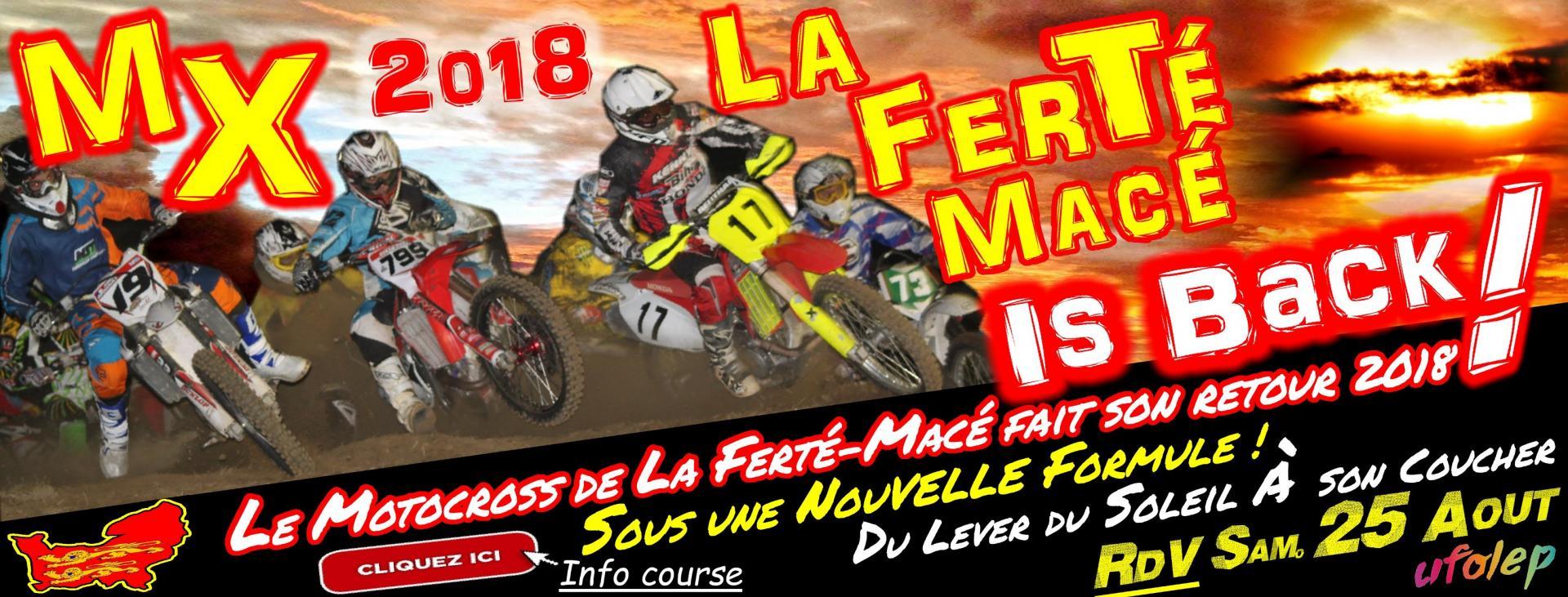 Banniere Motocross La Ferté-Macé 2018
